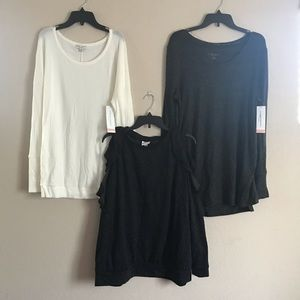 Isabel Liz Lange Maternity XL Dress Trio Bundle